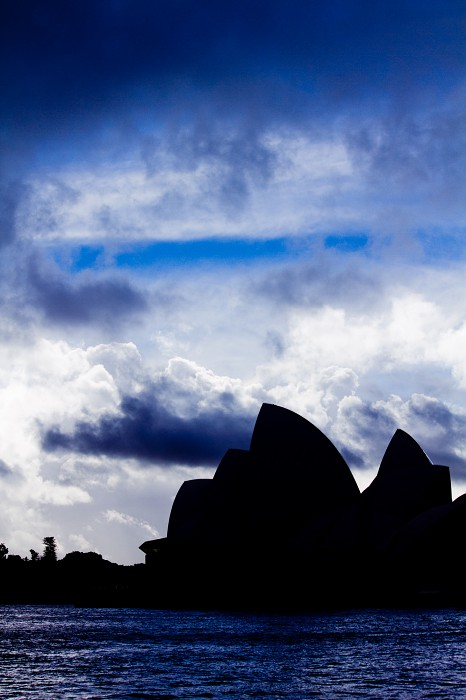 Sydney Opera House Silhouette Photo #2