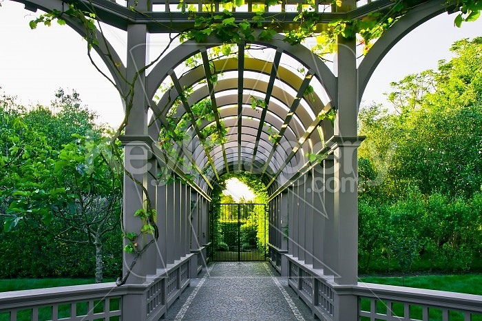 Italian Garden Archway Photo 36340 by MikeWalen