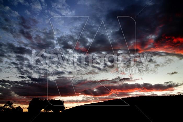 Hobbiton Sunset Photo #55064