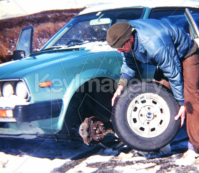 Tyre Changing Photo #56179