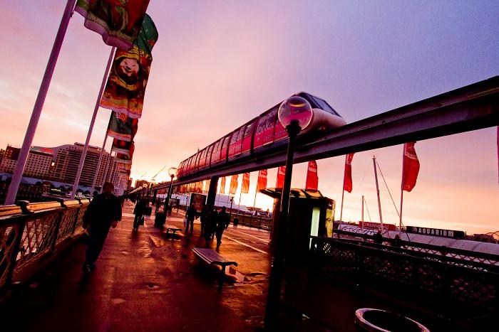 Sydney Monorail Photo #1