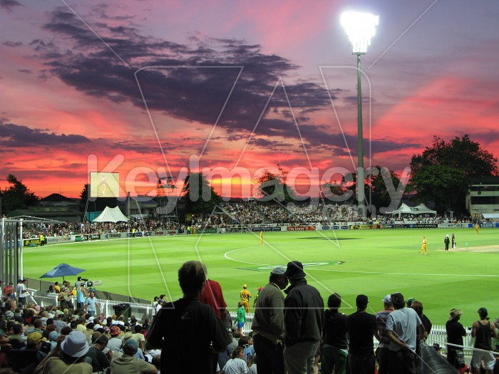 A fantastic sunset at the cricket Photo #518