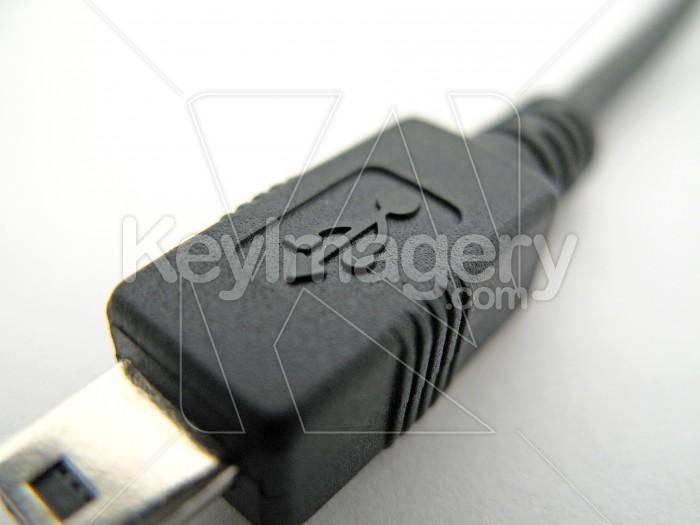 A mini USB cable and plug 1 Photo #2275