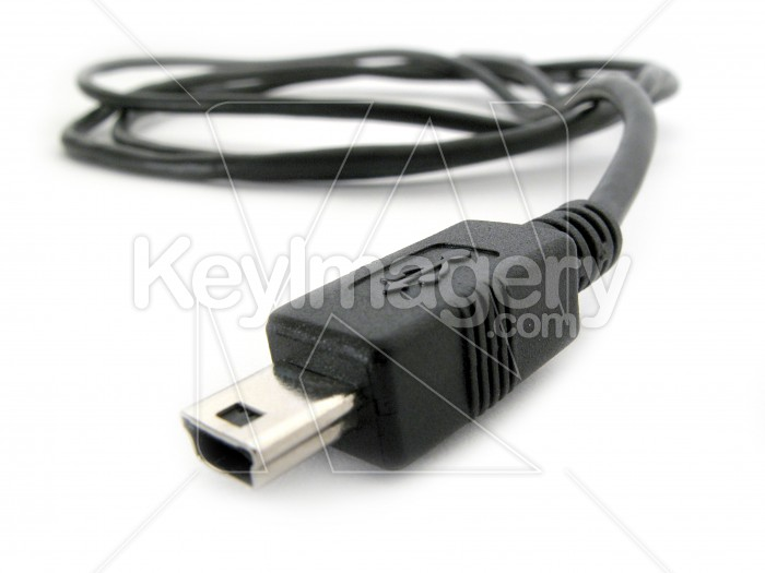 A mini USB cable and plug 4 Photo #2269