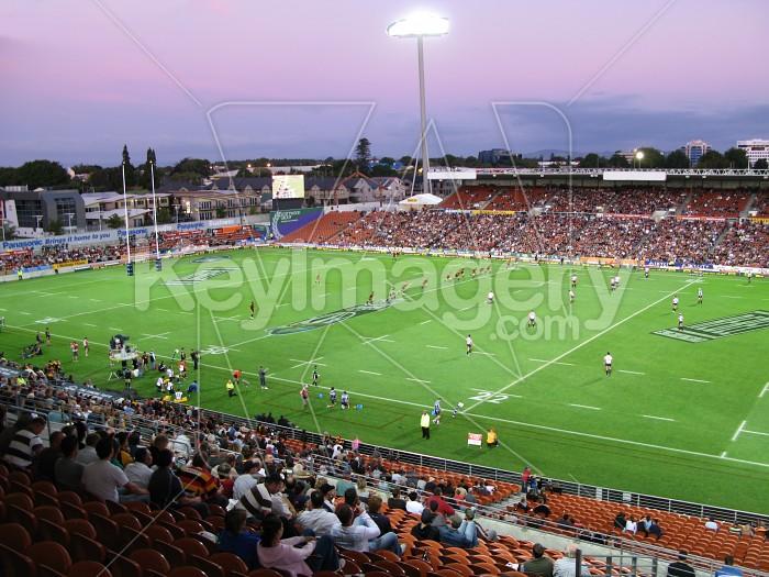 A Rugby match at Waikato Stadium Photo #471
