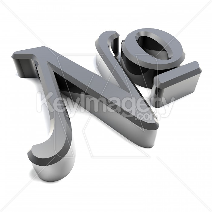 A Silver Number Sign Or Symbol In 3d Photo 13875 By Mikewalen