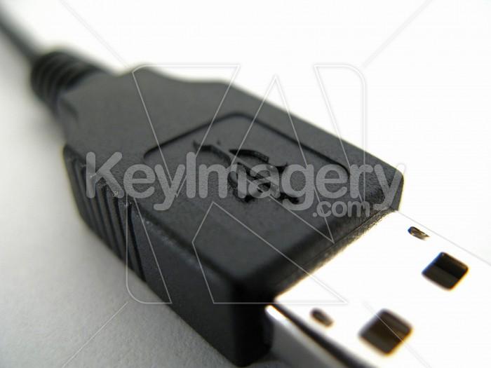 A USB cable and plug 1 Photo #2274
