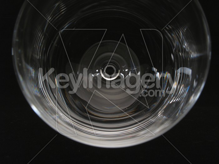 A wine glass lying down Photo #2298