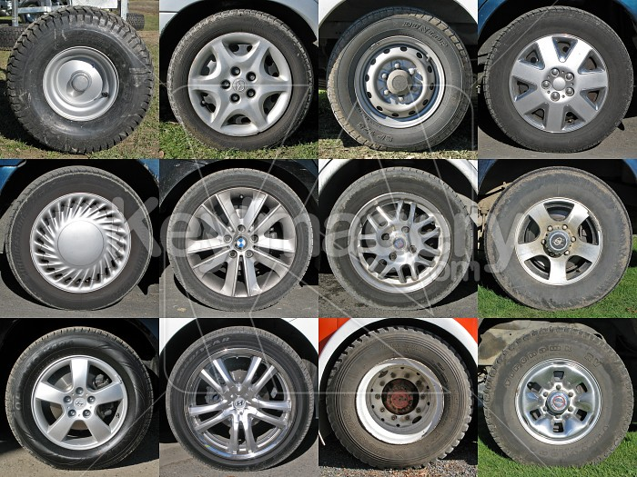 Assorted Wheels Photo #2474