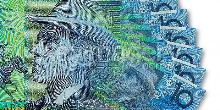 Australian Ten Dollar Note Photo #42687