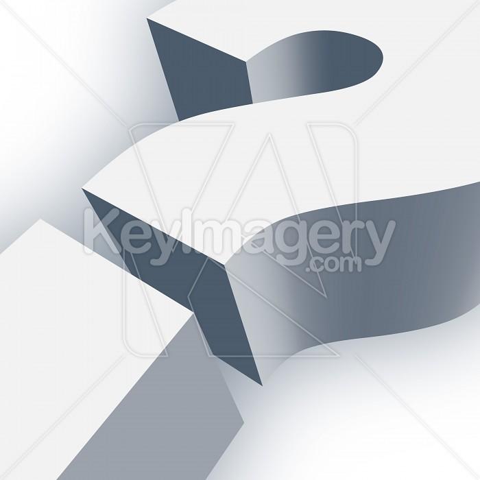 Big Question Mark Symbol in 3D Photo #13017