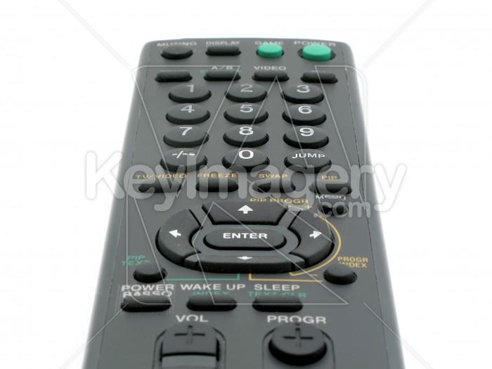 Black TV remote control Photo #2367