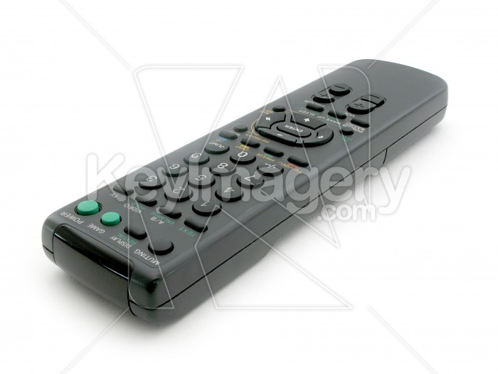 Black TV remote control Photo #2368