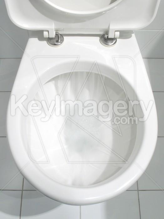 Clean white bathroom toilet Photo #2358
