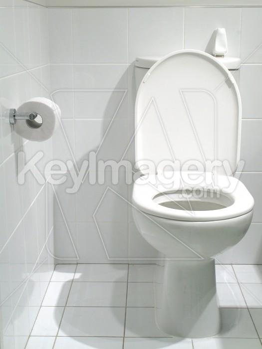 Clean white bathroom toilet Photo #2360