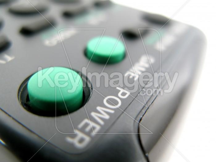 Close up of black remote control Photo #2373