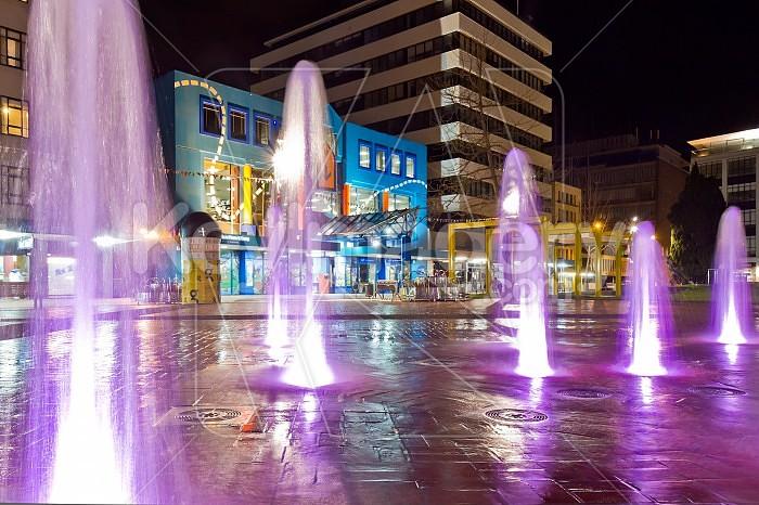 Garden Place Fountain Hamilton Photo #43033