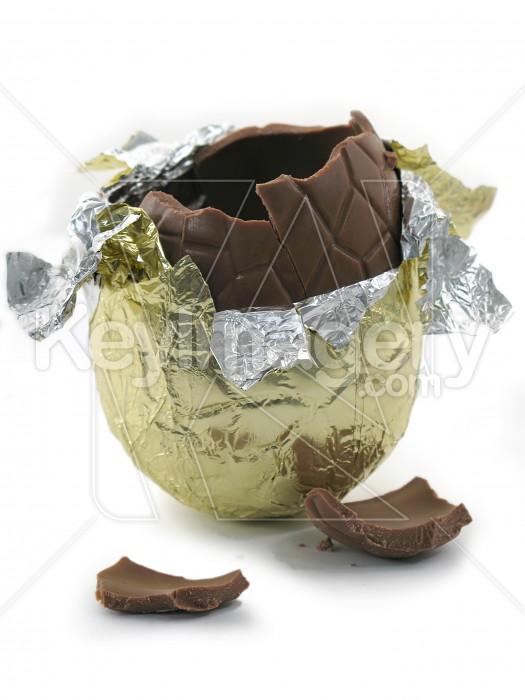 Golden Easter Egg Photo #557