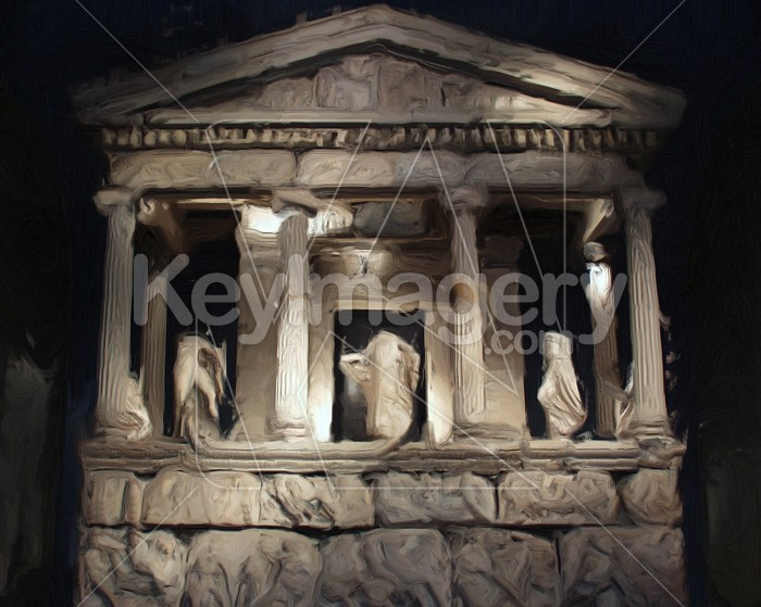 Greek artifacts in the British Museum (painting) Photo #2535