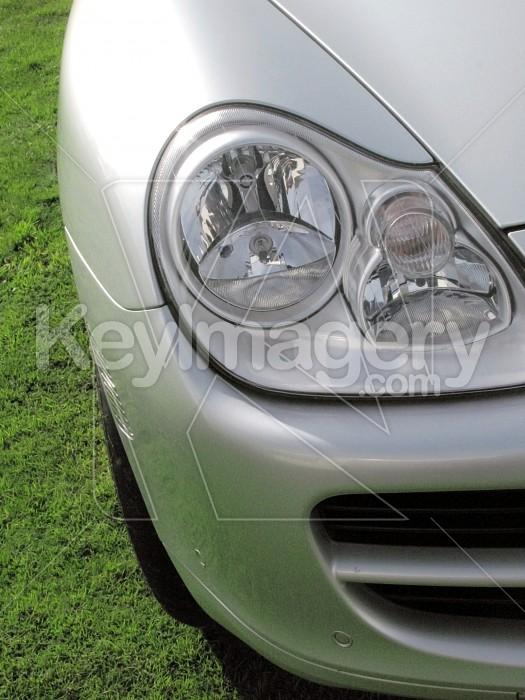 Headlight of a modern vehicle Photo #4173