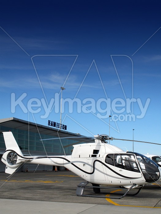 Helicopter at Hamilton International Airport Photo #4418