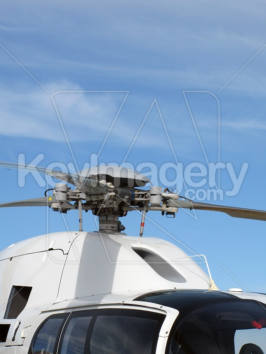 Helicopter rotor blades and cowling Photo #4188