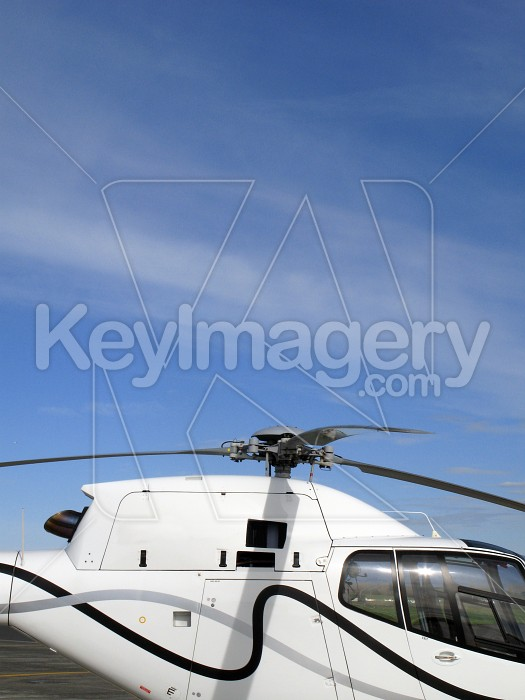 Helicopter rotor blades and fuselage Photo #4189