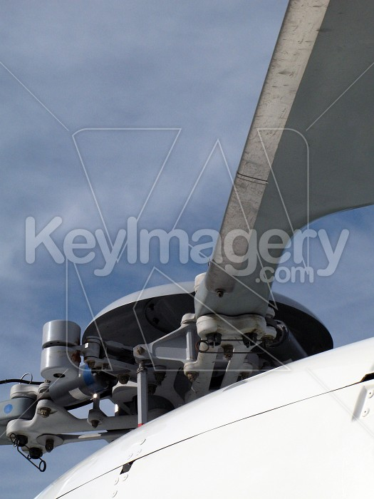 Helicopter rotor blades Photo #4166