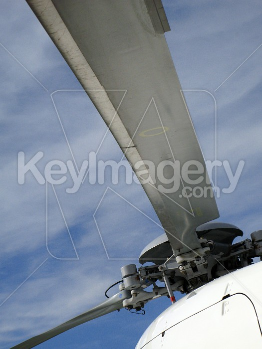 Helicopter rotor blades Photo #4169