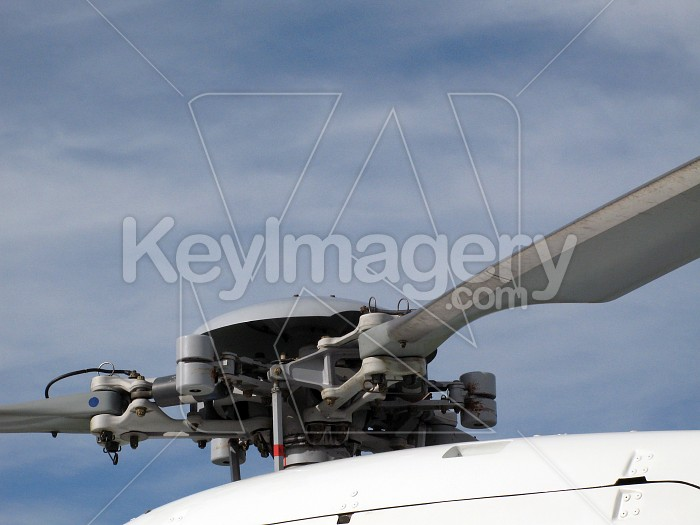 Helicopter rotor blades Photo #4170