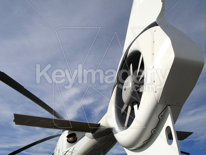 Helicopter tail rotor blades Photo #4167