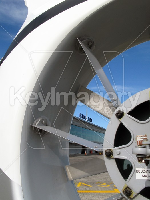 Helicopter tail rotor with terminal Photo #4190