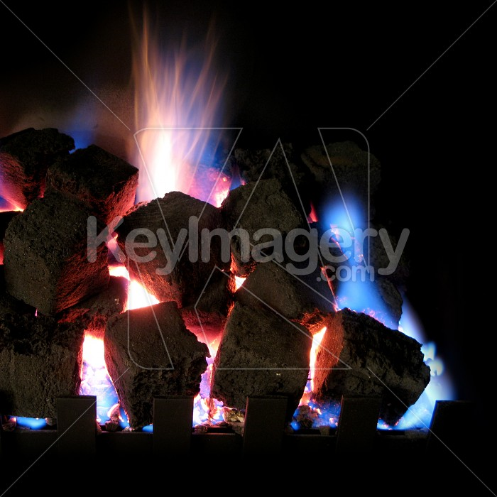 Hot burning coals Photo #2099