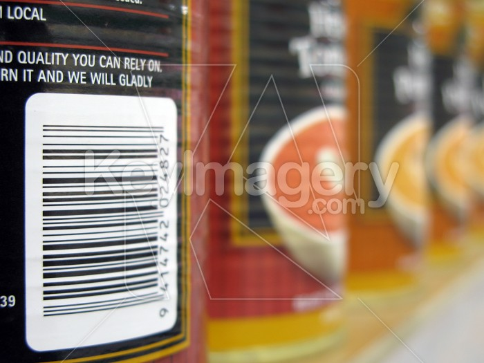 Labels on soup cans Photo #4947