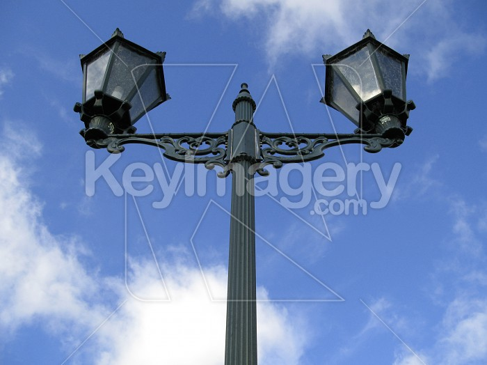 Lamp Posts in the Sky Photo #1489