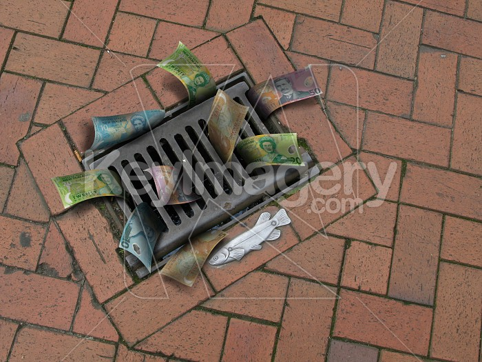Lots of money down the drain Photo #4277