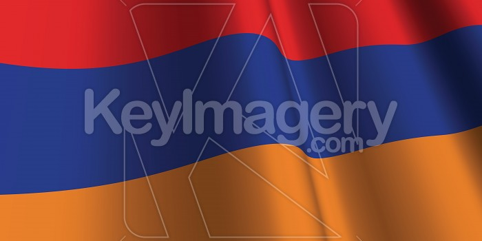 National Flag of Armenia Photo #12861