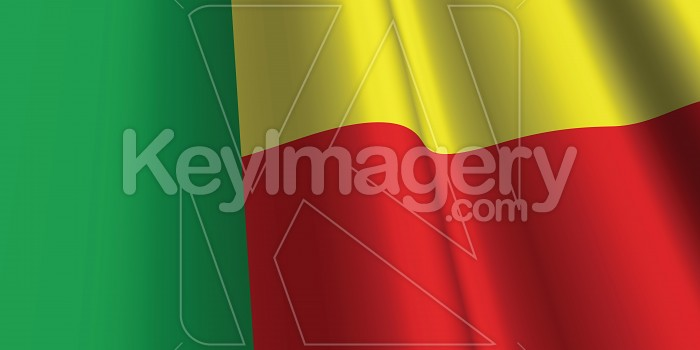 National Flag of Benin Photo #12806
