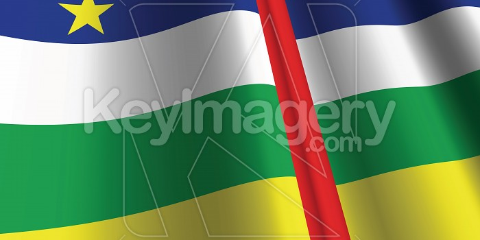 National Flag of Central African Republics Photo #12859