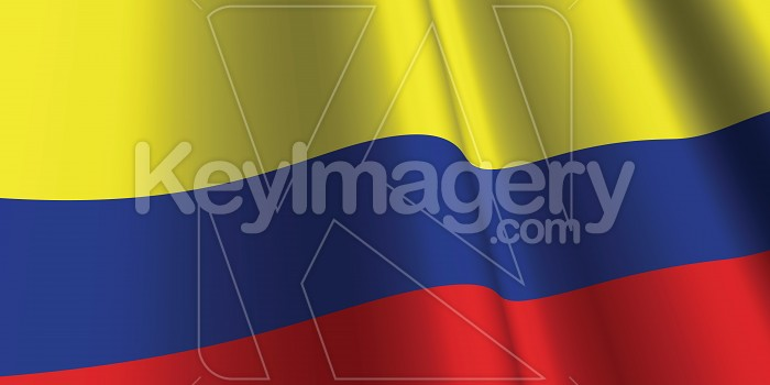 National Flag of Colombia Photo #12846