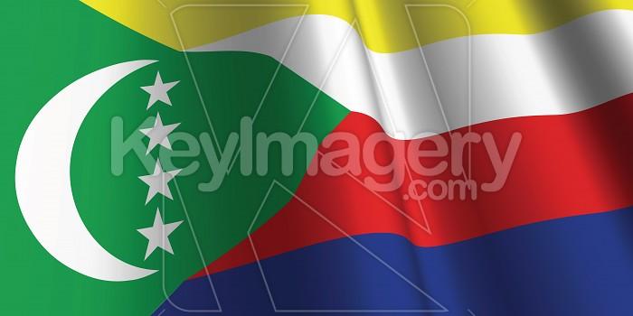 National Flag of Comoros Photo #12773