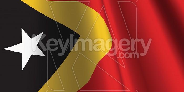 National Flag of East Timor Photo #12849