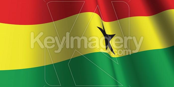 National Flag of Ghana Photo #12783