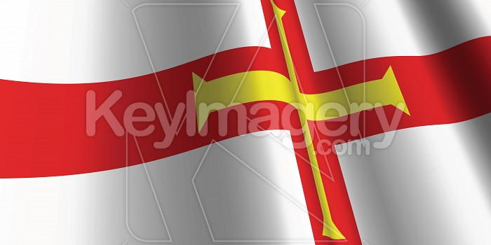 National Flag of Guernsey Photo #12851