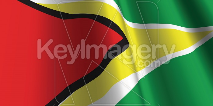 National Flag of Guyana Photo #12857