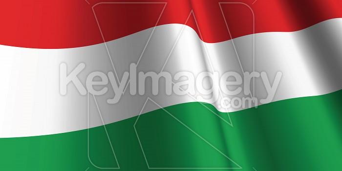 National Flag of Hungary Photo #12870