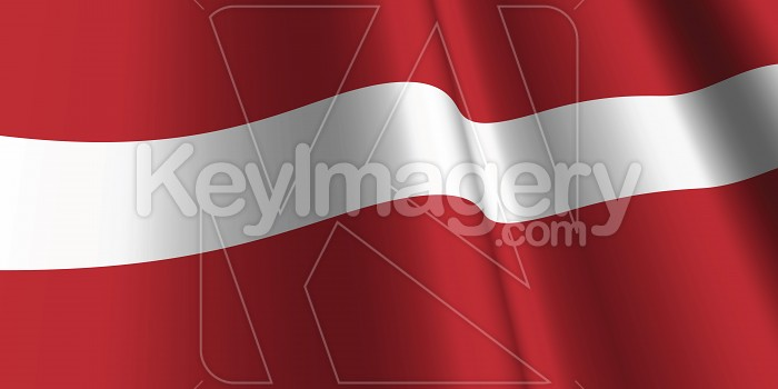 National Flag of Latvia Photo #12790
