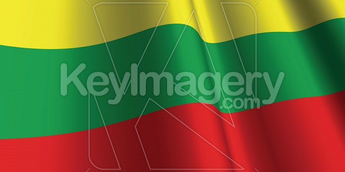 National Flag of Lithuania Photo #12856