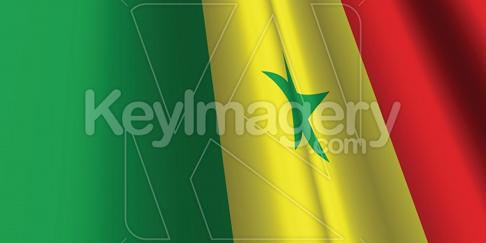 National Flag of Senegal Photo #12830