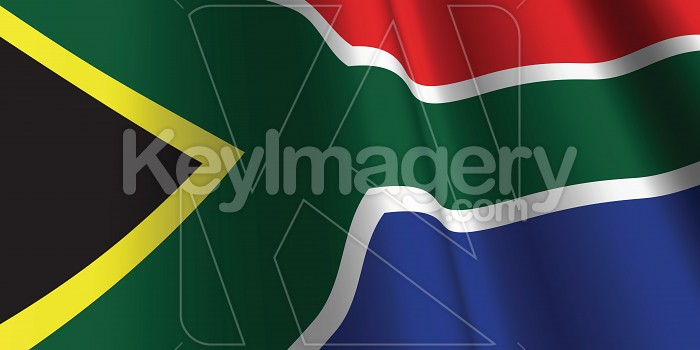 National Flag of South Africa Photo #12820